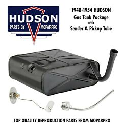 1950 Hudson New Complete Fuel / Gas Tank Package - New Tank Sending Unit Tube