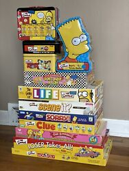 The Simpsons Board Game Lot