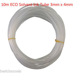 10m Eco Solvent Ink Tube 3mm X 4mm For Mutoh Vj-1604 / Vj-1604w / Rj-900