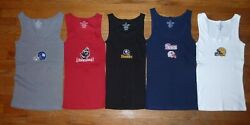 Nfl Womanand039s Ribbed Stretch Sexy Tank Top Choose Color Size And Team Football