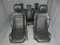 Mercedes Ml 63 Seat Front Right Left And Rear Set Black Leather 2012 2015