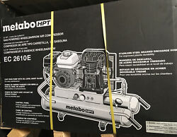 Metabo Hpt 8-gallon Gas Powered Wheelbarrow Air Compressor. Local Pickup Only.
