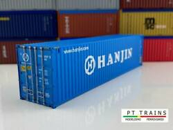 Ho Scale Shipping Container- 840043 - 40ft Hc Hanjin