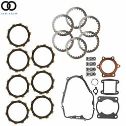Complete Clutch Kit And Gasket Kits Fit For 1988-2006 Yamaha Blaster 200 Yfs200