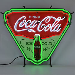 Wholesale Lot Of 4 Classic Licensed Coca Cola Neon Signs Full Collection Coke