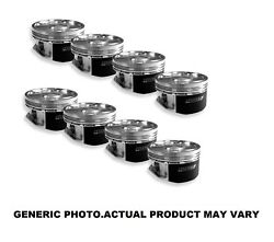 Manley For Small Block 2 Barrel -2.5cc Pistons 4.035 Bore 0.43 Ring - 591035-8