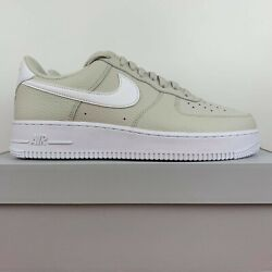 Nike Air Force 1 Low Light Bone White Tumbled Leather Ct2302-001 Menand039s Size 9.5