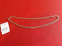 Gold Chain Necklace 14k / 585 Russian Rose Gold New 16.63g 50cm/20 Inch