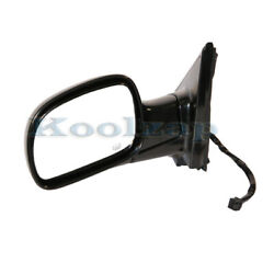 Tyc 01-07 Caravan/town And Country Rear View Mirror Power Heated Black Driver Side