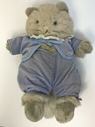Tom Kitten Cat from Beatrix Potter's Peter Rabbit Plush EDEN FREDERICK WARNE