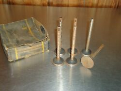 New Nos Oem Gm Engine Intake Exhaust Valve 345421 Lot Of 6 1913-1927 Chevrolet