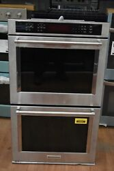 Kitchenaid Kode500ess 30 Stainless Double Electric Wall Oven Nob 35281