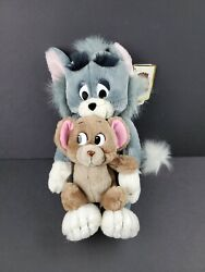 Vintage Tom And Jerry 10 Double Stuffed Plush Toy 1990 Presents Turner Rare Nwt