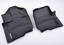 Roush For 15-20 Ford F-150 Super Crew Weathertech Digital Fit Floor Mats 421975
