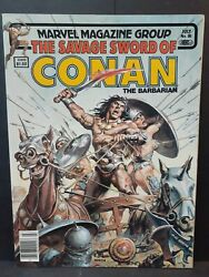Savage Sword Of Conan The Barbarian 90 Marvel 1983 Complete