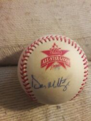 Don Mattingly Signed 1985 Official All Star Game Baseball Ironclad Holo Coa