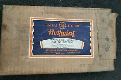 Vintage General Electric Waffle Iron Grids G22p150 New In Package