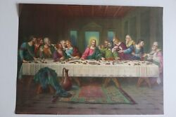 The Last Supper • Vintage Print By Brunozetti