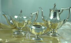 Gorham Sterling Silver Modern Classy Coffee Andtea Set 3 Pc