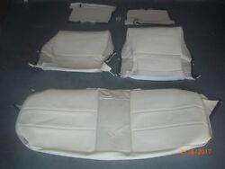 1969 1970 Cadillac Convertible Seat Cover Upholstery Skins White Black Red