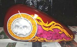 Special  Airbrush Harley Carb Gas Tank/fenders/ Fatboy/heritage  00-06