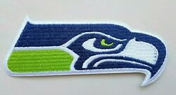 Seattle Seahawks Embroidered 3 7 8quot; Iron On Patch $3.15