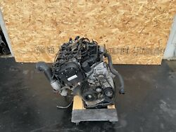 Engine Motor Block Assembly W/turbo Tested Idcym 79k 17-20 Audi A4 A5 2.0t