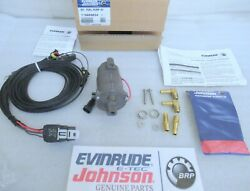 S18 Evinrude G2 E-tec 5009834 Aux Fuel Pump Kit Assembly Kit New Factory Oem
