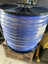 New Spool Of 3/4 250 Ft. Purosil 80-075-250 Blue Silicone Heater Hose
