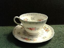Shelley Cup And Saucer, Crochet Pattern, Fine Bone China, Matching 13303, England