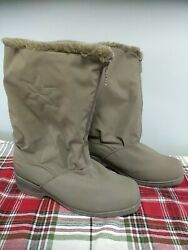 Totes Winter Boots Women#x27;s Size 8M Brown Snowflake Chromatics by Totes $28.99