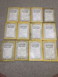 The National Geographic Magazine 1941 Complete Set 12 Issues With All Maps
