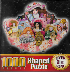 Sure-lox What A Doll 1000 Piece 37 X 28 Shaped Jigsaw Puzzle 2005 Sealed