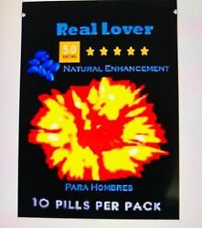 40 Real Lover Enhancement Pills/100 Natural Male Herbal Boost Para Hombres Toro