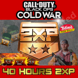 Call Of Duty Black Ops Cold War 40 Hours 2xp And Totinos Kroger Emblem Skin Card