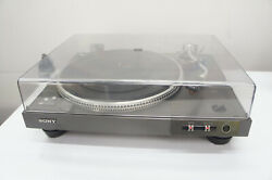 🍀 Clean Sony Ps-x6 Stereo Turntable W Shure M70ej Cartridge Parts Repair