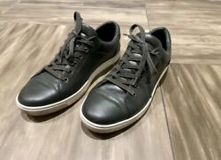 Dolceandgabbana Sneakers Mens Green Leather Low, Lace Up Shoes Sz. Us 10 Uk 9.5