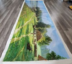 Oil Painting Super Extra Large 85x28