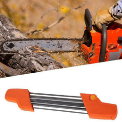 5/32 File Chainsaw Chain Sharpener 4.0mm Quick Chain Saw Pitch Teeth Sharpening