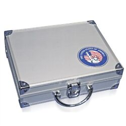 Aluminum Coin Case For Silver Eagles In Capsules