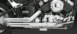 Vance And Hines Short Shots Staggered Exhaust V-star 650 Xvs650/a All Years V18519