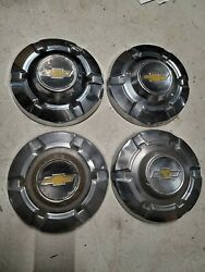 1973 74 75 76 77 Chevrolet Truck Pickup 3/4 Ton 8 Lug Stainless Hubcaps C20