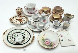 Lmas Doll House Miniatures Ceramic Dishes Royal Crown Derby China
