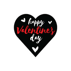 Happy Valentine Day Yard Sign With Metal Stakes, Weatherproof,and Uv Protected.