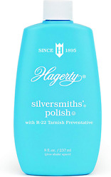 W. J. Hagerty Hagerty 10080 Silversmithsand039 Silver Polish 8 Ounces 8-ounce Blue