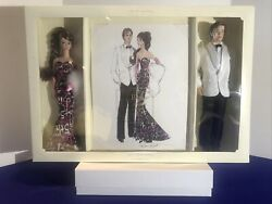45th Anniversary Barbie Doll And Ken Doll Giftset Limited Edition C4656