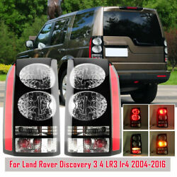 Pair Rear Tail Brake Light Lamp For 2004-16 Land Rover Discovery 3 4 Left Right