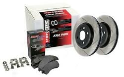 Stoptech Axle Pack - Street 934.33029 Front / Rear Fitsaudi 2014 - 2014 A6 2