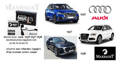 Active Sound Booster For Audi Sq5 Sq7 Sq8 Bluetooth And App Pop And Band + Taxes