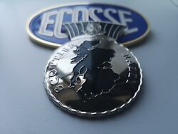 Value Pack - 2 Scottish Scotland Grill Badges - Fits All Cars